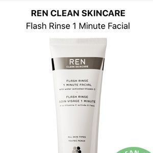 🍋 5/$25 • Ren Flash Rinse Facial